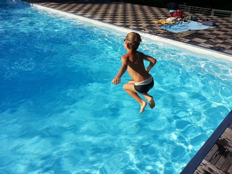 La piscine au sel