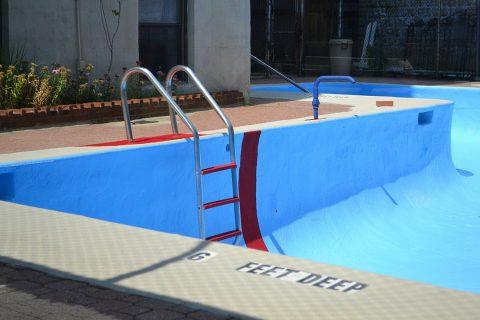 La piscine en matières composites