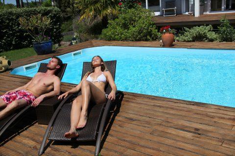 aménagement de la piscine