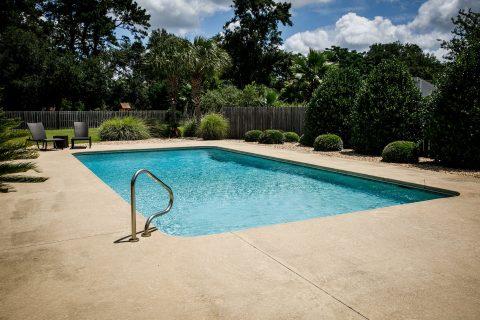 piscine béton creusée