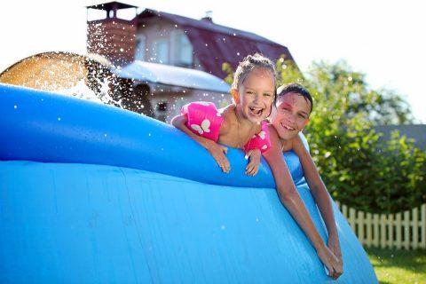 piscine gonflable auto-portée